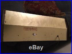 1960s Vtg Schaefer Beer Lighted Nautical Ship & Glass Cash Register Bar Sign