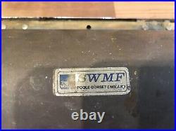 4 Vintage Original SWMF Ships Interior Brass Lights Maritime Marine