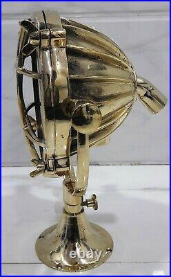 Antique Brass Nautical Vintage Style Boat Mini Spot Search Light 1 Piece