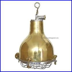 Antique Ceiling Marine Industrial Vintage Nautical Brass deck Light Lot of 6 PCs