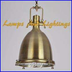 Antique Style Nautical Hanging Pendant Light Home Decor Lamp Vintage Industrial