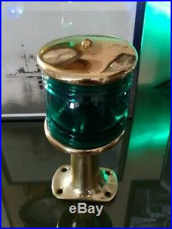 Antique Vintage 1920's 1930's PERKO Stern Light Chris Craft GarWood Boat Light