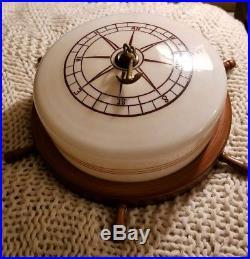 Antique Vintage Nautical Compass Rose Anchor Boat Ceiling Light Lamp Fixture