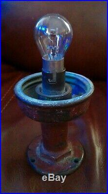 Antique Vintage PERKO Beehive Purple Brass Stern Light Chris Craft GarWood Boat