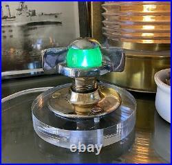 Antique Vintage Rare WILCOX CRITTENDEN Chris Craft Boat WC Light Night Light