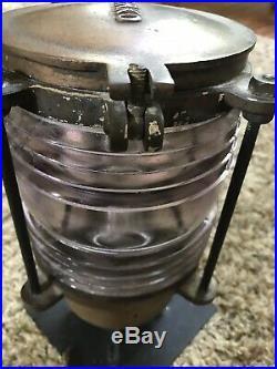 Antique Vintage US Navy PERKO Light