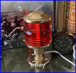 Antique Vintage WWII US Navy PERKO Running Light Night Light U. S. N
