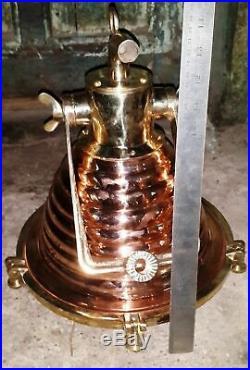 Brass & Copper Vintage Marine ship nautical spot light Small quantity 1 piece