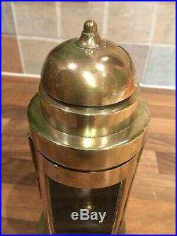 Brass Ships Binnacle Oil Lamp Vintage Light Nautical Maritime Marine Boat