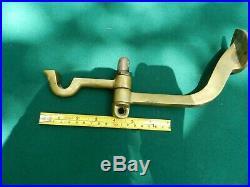 Brass Vintage Ship Light Bracket Rare