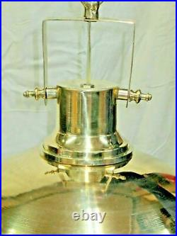Ceiling Hanging Bulkhead Nautical Vintage Style Brass New Light & Shade 1 Piece