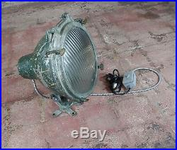Crouse-Hinds -1930s Vintage Nautical & Industrial Spot light