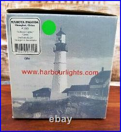Harbour Lights Lighthouse #310 Mahota Pagoda, Shanghai, China 2004 Nautical VTG