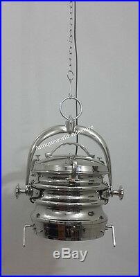 Home Decor Vintage Ceiling Pendant Hanging Light Nautical Pendant lamp Chrome