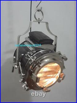 Industrial Vintage Ceiling Pendant Hanging Light Nautical Pendant Chrome Lamp