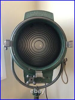 JG Mcalister Nautical Movie Theatre Light Spot Movie Industrial Vintage Art Deco