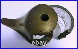 Kilborn Sauer Co. Vintage Brass Teardrop Ships Boat Light Maritime Nautical