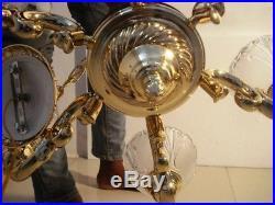 LARGE -Vintage BRASS Light JUMMER from Passenger Vessel SHIP'S ORIGINAL (2831)
