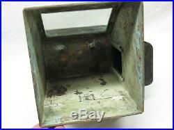 Lionel Ship Gimbal Compass Binnacle Case Box Vtg Old Antique Lantern Lamp Light