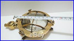 Maritime Vintage Antique Marine Ship Brass Passage Lights 100% Original