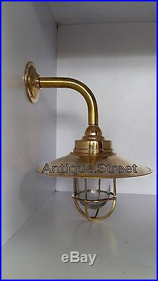 Nautical Marine Light Ship Brass Passage celling Light Retro Vintage lot of 3 Pc