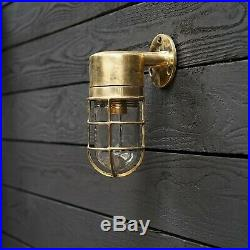 Nautical Vintage Marine Brass Passage Light
