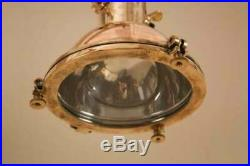 Nautical Vintage Marine Copper & Brass Small Wall Pendant Lights
