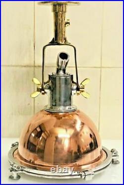Nautical Vintage Style Cargo Pendant Spot Copper & Brass Hanging New Light 1 Pcs