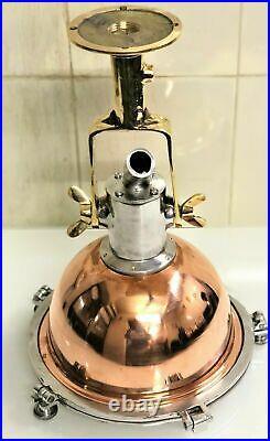 Nautical Vintage Style Cargo Pendant Spot Copper & Brass Hanging New Light 4 Pcs