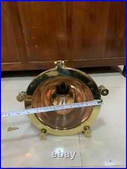 Nautical Vintage Style Ceiling Pendant Spot Light Fixture Copper & Brass 5 Piece