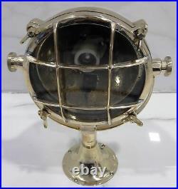 Nautical Vintage Style Marine Spot Boat Cargo Brass New Search Light