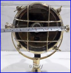 Nautical Vintage Style Marine Spot Cargo Brass New Light 1pcs