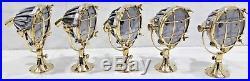 Nautical Vintage Style Marine Spot Cargo Brass&aluminium New Light 2pcs