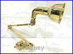 Nautical Vintage Style New Marine Brass Ship Navy Bow Light 1 Piece