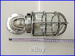 Nautical Vintage Style Passage Way Bulkhead Aluminium New Light Set Of 3