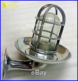 Nautical Vintage Style Passage Way Bulkhead Aluminium New Light With Plate10pcs