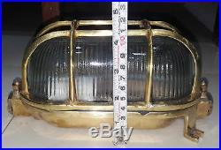 Nautical Vintage Style Passage Way Bulkhead Brass Cover New Light 12 Pcs
