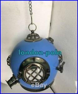 New Vintage Designer Hanging Lamp Light Brass Diving HelmetHome Decor