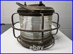 Nippon Sento Co. Vintage White Light Electric Naval Ship Light Lamp 1968