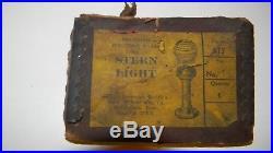 North & Judd Vintage Antique Boat Stern Light Night Light New Old Stock