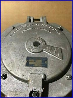One Vintage Marine Navigation Marker Light, 180 Degree Green Or Red Fresnel Lens