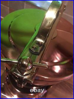 Original Vintage Brass Copper Royal Navy Stern Light Maritime Nautical Boat