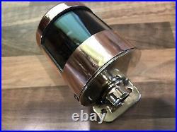 Original Vintage Brass Copper Stern Light Maritime Marine Nautical Boat