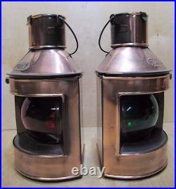 PORT & STARBOARD HONG KONG Vintage Nautical Oil Lights Decorative Lamps NOAG