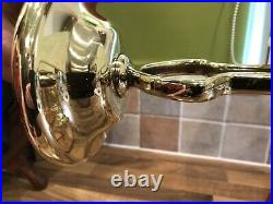 Pair Vintage Brass Gimbal Admiralty Patt AP9009 Ships Lights Maritime Marine