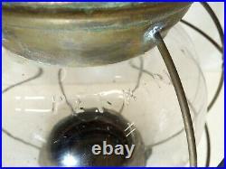 Perkins #8 Antique vtg Marine Lamp PERKO Brass Nautical Lantern Ship Light Oil