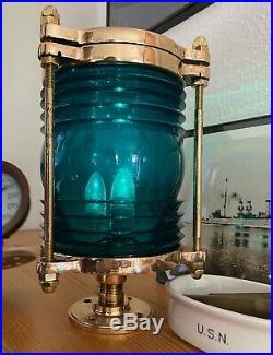 Restored Vintage Antique US Navy WWII Nautical Light
