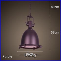 Searchlight Porthole Nautical Industrial Vintage Metal Ceiling LED Pendant Light