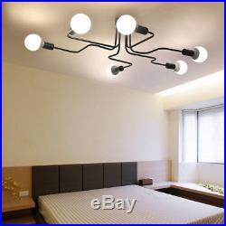 Steampunk Industrial Vintage Ceiling Chandelier Lighting Pendant Lamp Fixture