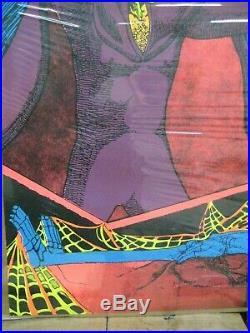 The sorcerer 1971 black light poster vintage psychedelic Rare C188